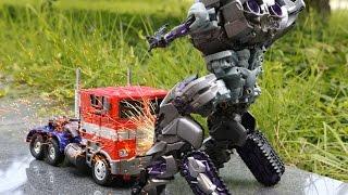 Transformers Optimus Prime VS Megatron Combat Stop Motion Car Toys 트랜스포머 장난감 옵티머스프라임 VS 메가트론 전투 동영상