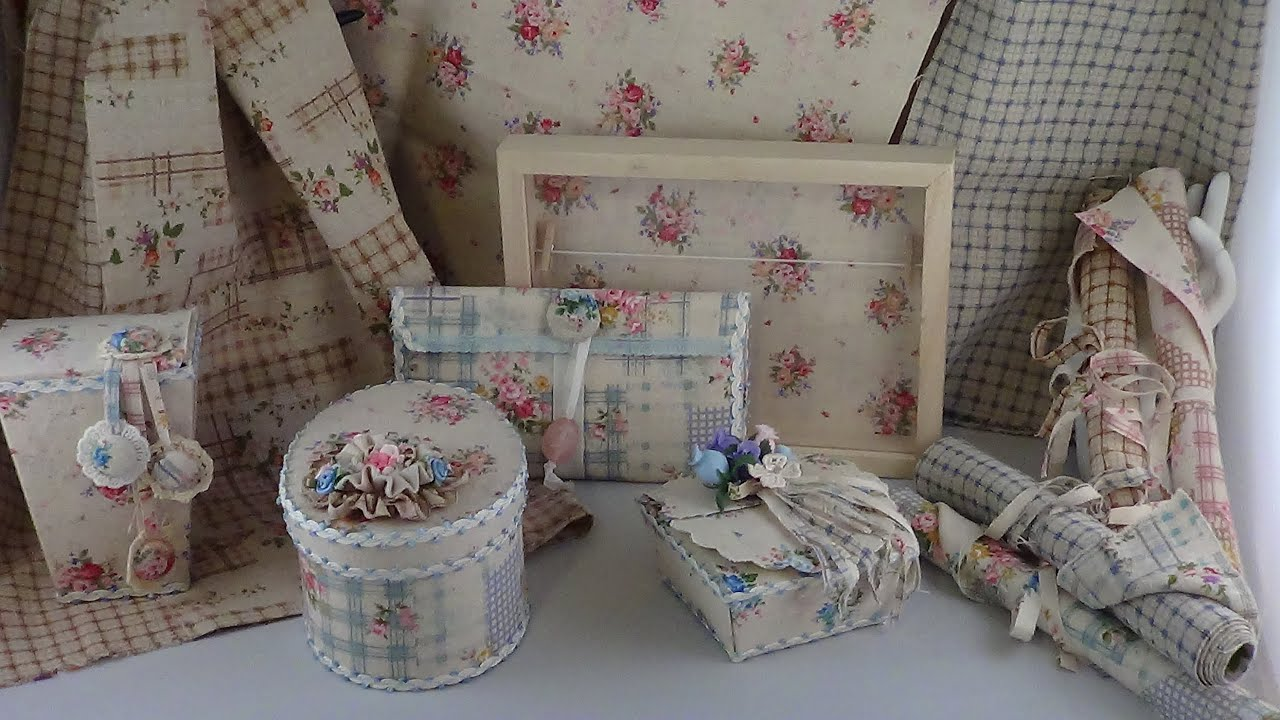 Country Cottage Shabby Chic Projects! - YouTube