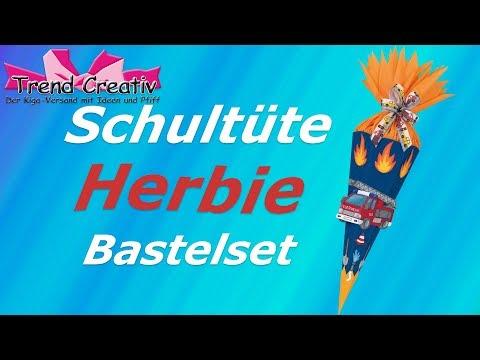 Trend Creativ Bastelset Schultüte Herbie