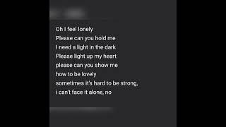 Starian dwayne mccoy - Hold me (Lyrics)