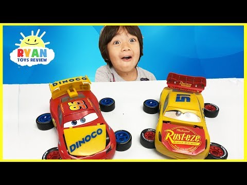 Thumbnail: Disney Cars 3 Lightning McQueen Cruz Ramirez Jackson Storm Assembly Kit Mix and Match Cars Toys