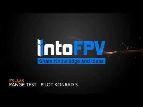 Flysky FS A8S Range test