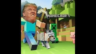 MAKE MINECRAFT GREAT AGAIN- DONALD TRUMP PARODY