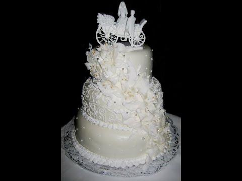 Потрясающие свадебные торты