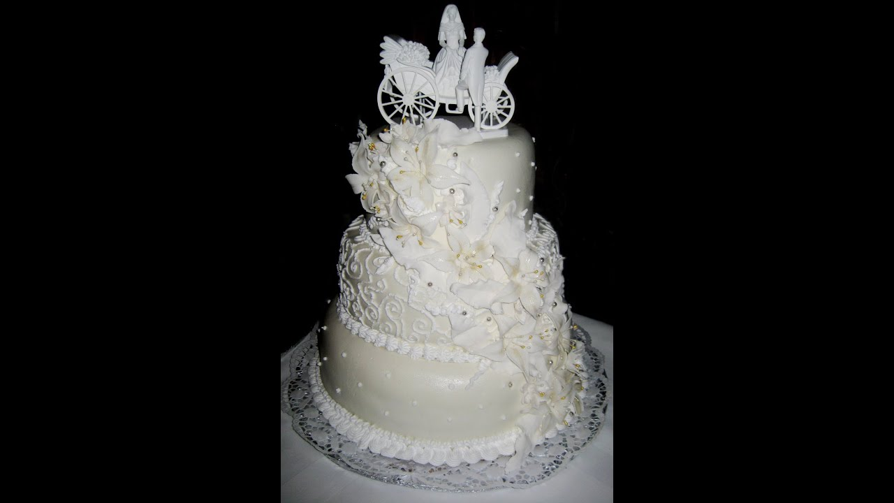 Потрясающие свадебные торты - YouTube