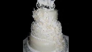 видео свадебный торт