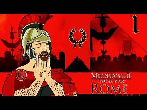 ROME IN MEDIEVAL 2! Medieval 2 Total War: De Bello Mundi: Rome Campaign Gameplay #1