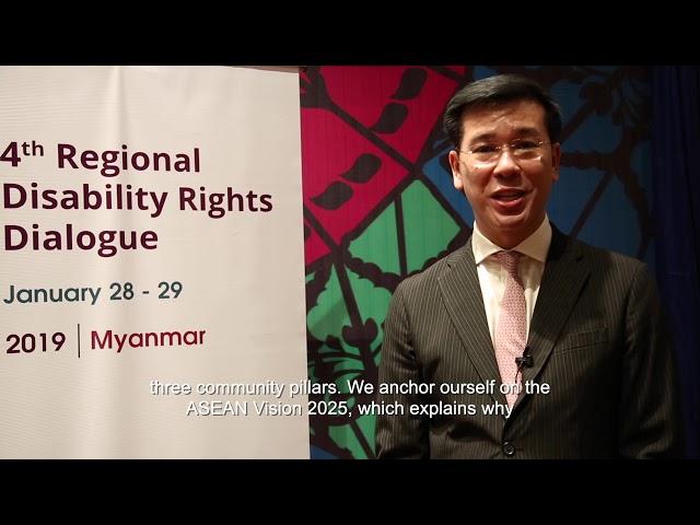 AGENDA Dr Seree Nonthasoot, Former Thailand AICHR Representative