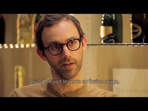Verallia Design Awards 2018 - Guillaume Delvigne visite l'usine de Oiry