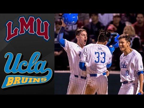 Loyola Marymount vs #1 UCLA NCAA Baseball Regional | College Baseball Highlights