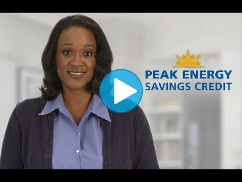 Peak Energy Savings Credit