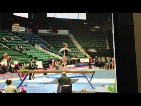 Aspen Terrell - Texas Dreams Gymnastics - Level 10 - Beam - WOGA Classic 02 13 16 - Frisco TX
