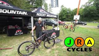 Rocky Mountain Bicycles Ride-9 System Demonstration