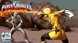 Power Rangers Legends - Yellow Ranger from Super Samurai (iOS Gameplay, Playthrough)