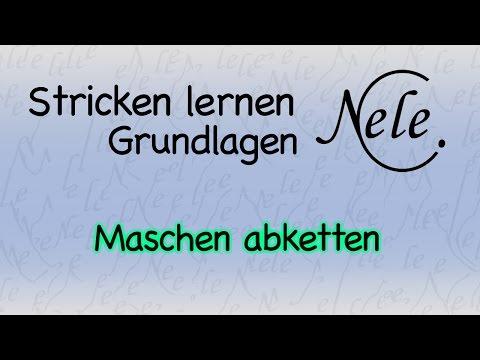 Stricken lernen Grundlagen – Maschen abketten – 4 Techniken, DIY Anleitung by NeleC.