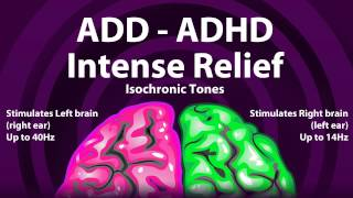 ADD ADHD Intense Relief - Isochronic Tones With Orchestral Background Track