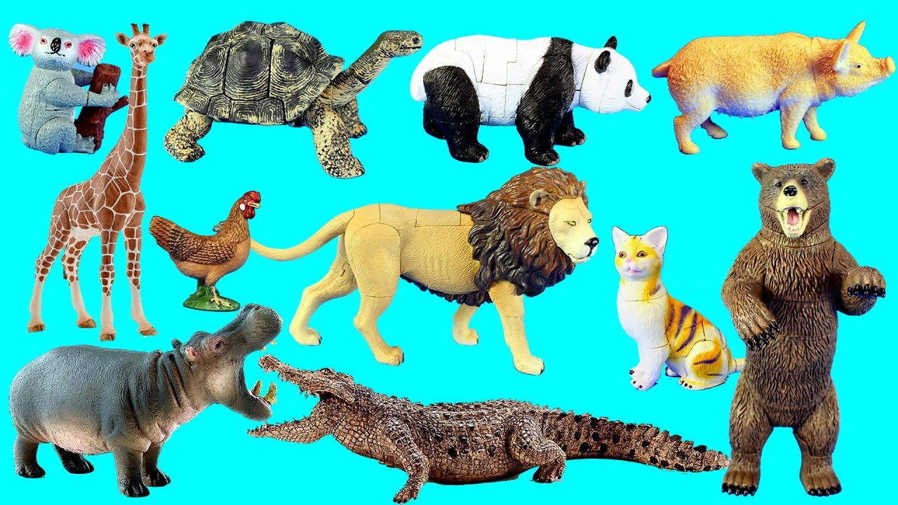 Best Animal Planet Toys For Kids And Toddlers : Country farm animals and wild zoo safari toy