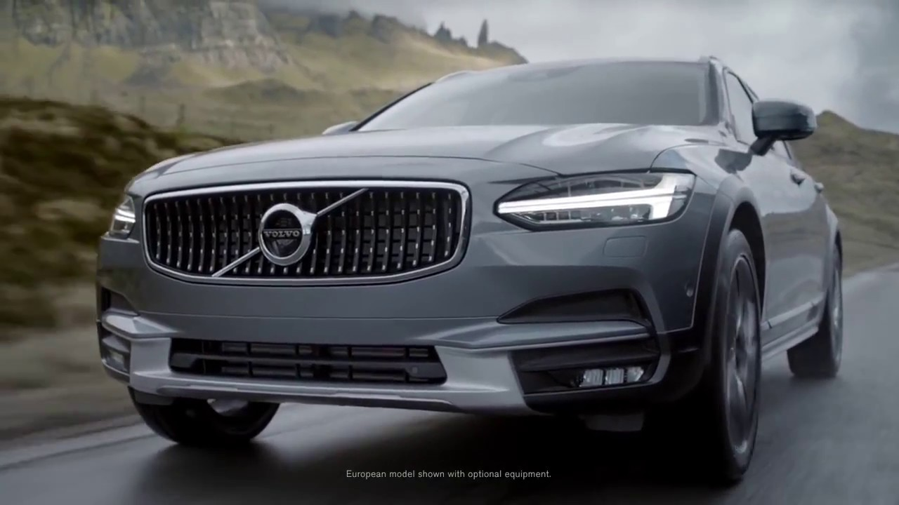 Volvo V90 Cross Country >> VOLVO V90CC Cross Country - YouTube