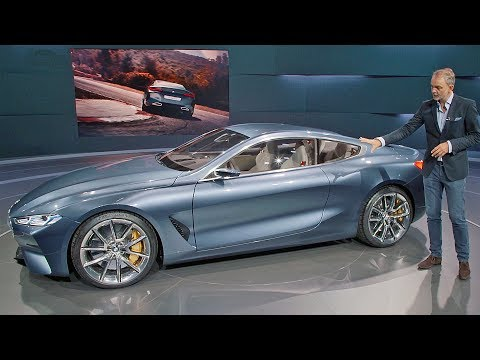 BMW 8 Series concept 2018 Walkaround YOUCAR
