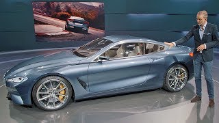 BMW 8 Series concept (2018) Walkaround [YOUCAR]