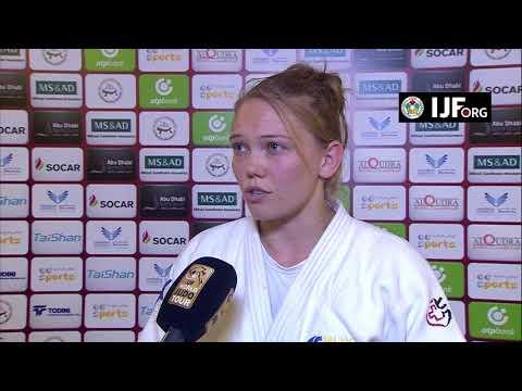 Anna BERNHOLM (SWE) Winner 70K Abu Dhabi Grand Slam 17