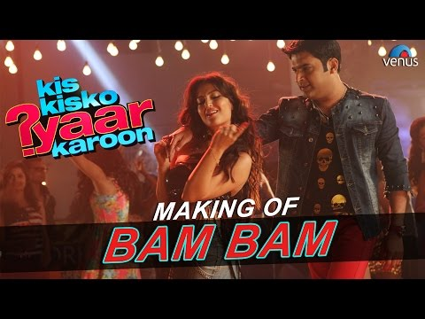 Bam Bam   Making   Kis Kisko Pyaar Karoon    Elli...