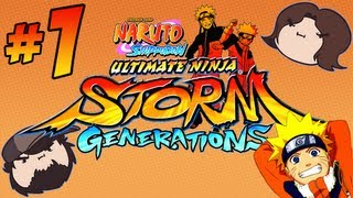 Naruto Shippuden Ultimate Ninja Storm Generations: Long Title - PART 1 - Game Grumps VS