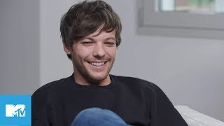 louis tomlinson talks his fave one direction song in mtv asks mtv music