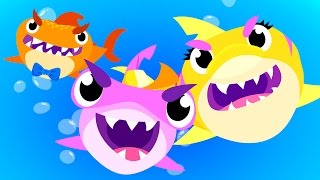Baby Shark Attack! | Animal Songs | by Little Angel