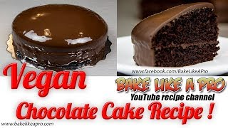 EASY Mini VEGAN Chocolate Cake Recipe