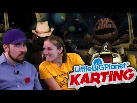 LittleBigPlanet Karting is AWESOME!