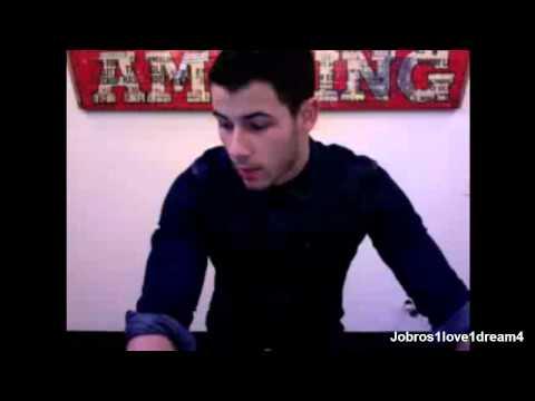 Nick Jonas Live Chat - July 30, 2014
