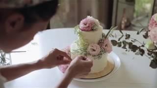 Украшаем свадебный торт вместе с IvCakes