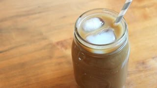 Caramel Iced Coffee | 5 ingredients