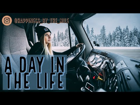 Download A Day in the Life   Over The Road Trucker