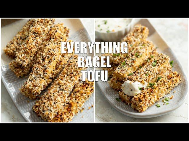 EVERYTHING BAGEL TOFU | Vegan Richa Recipes