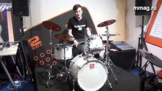 mmag.ru: Musikmesse 2015 - 2BOX TRIGIT - триггеры для аккустических барабанов