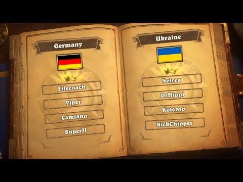 Germany vs Ukraine - Group H - Match 2 - Hearthstone Global Games