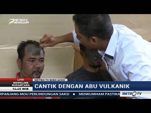 Newsline  Menjaga Kecantikan Kulit dengan Masker Abu Vulkanik Aceh