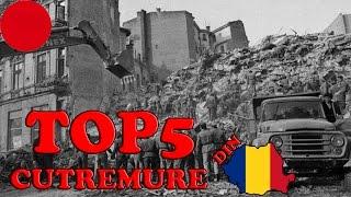 Top 5 cele mai puternice cutremure din Romania