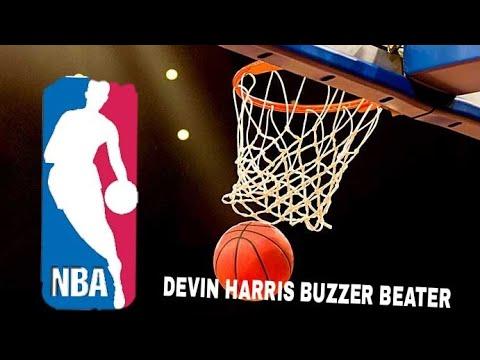 Devin Harris Half Court Buzzer Beater Against Sixers! (2/23/09)