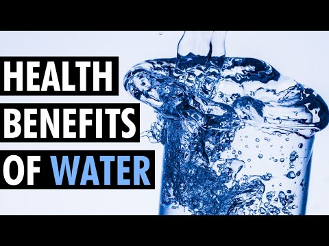 5 Health Benefits Of Drinking Water | Why You Need To Drink More Water | Tiege Hanley