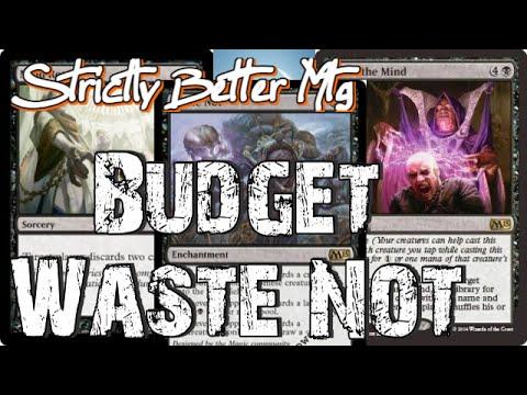 Mtg Standard Deck Tech: Budget Waste Not in Dragons of Tarkir Standard!