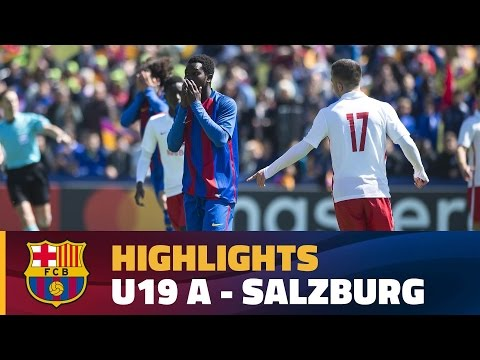 [HIGHLIGHTS] Under 19 A - Salzburg (1-2) UEFA Youth League Semifinals