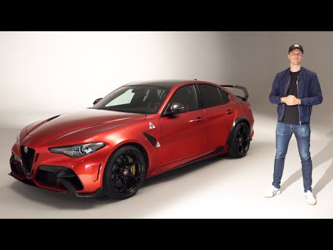 NEW €180k Alfa Romeo Giulia GTAm: Better Than A Project 8?