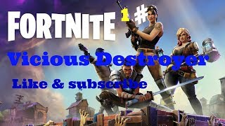 Fortnite Battle Royale:Solo Grind :-) Giveaway@700+Sub