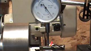 Spindle runout of an Atlas 618 lathe