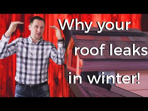 Roofing Leaks In Winter: How Your Roof Can Have Leaks Below Freezing?