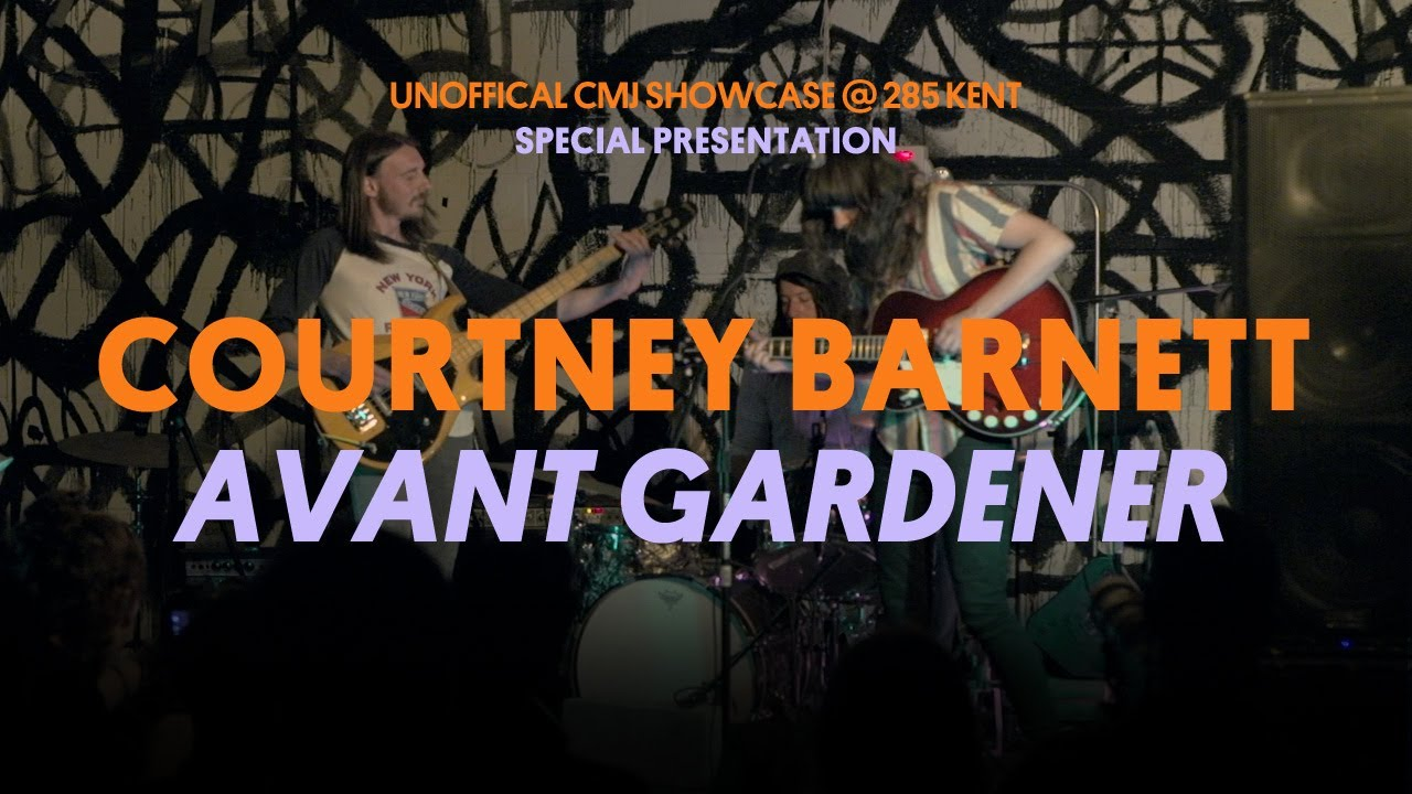 Courtney Barnett Performs Avant Gardener Youtube
