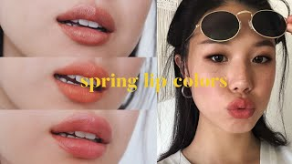 Favorite Spring to Summer 🌷Lips 2019